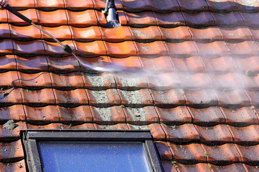 singapore roof cleaning services